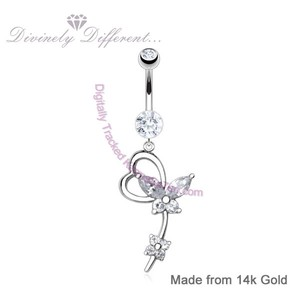Image featuring Butterfly Gold BElly Bar on white background.