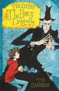 Front cover of the Kids Fantasy, The Keepers: THe Box and the Dragonfly' paperback.