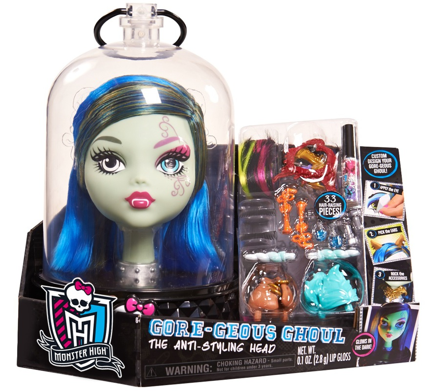 Monster High Gore- Geous Ghoul 'Anti-Styling' Styling Head