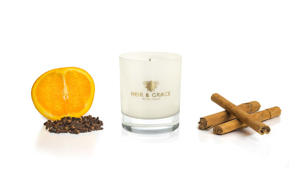 Mulled Oranges Home Candle by Heir & Grace
