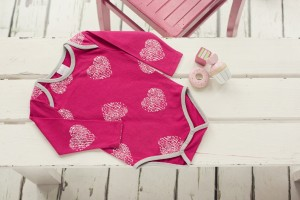 Image showing Blade & Rose Pink Heart Bodysuit