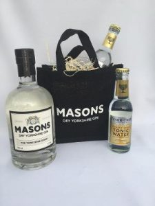 Example of a Masons Dry Yorkshire Gin Gift Set