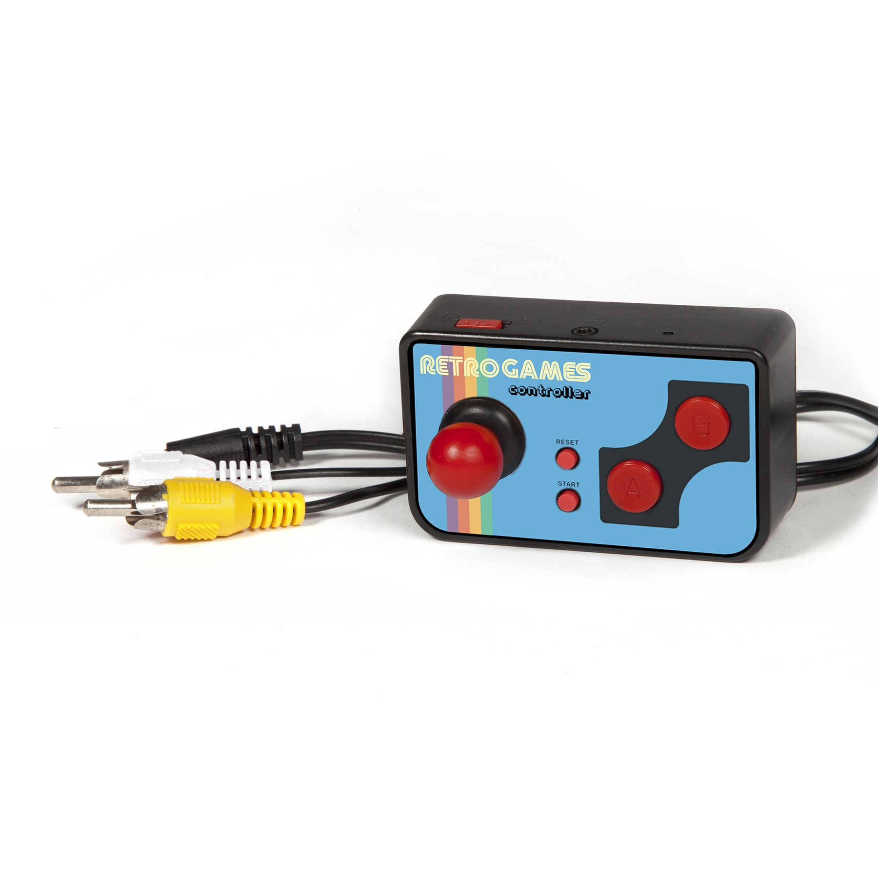 Image showing the Retro TV Games Controller and the included cable.