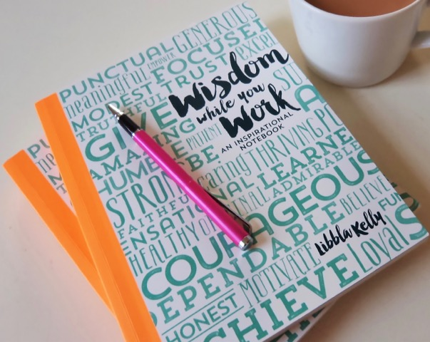 Image of Wisdom While You Work Notebook.