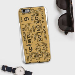 Image of Case Station Personalised Phone Case featuring a concert ticket