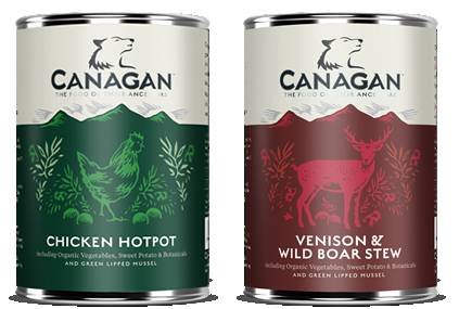 Canagan Dog Food Flavours