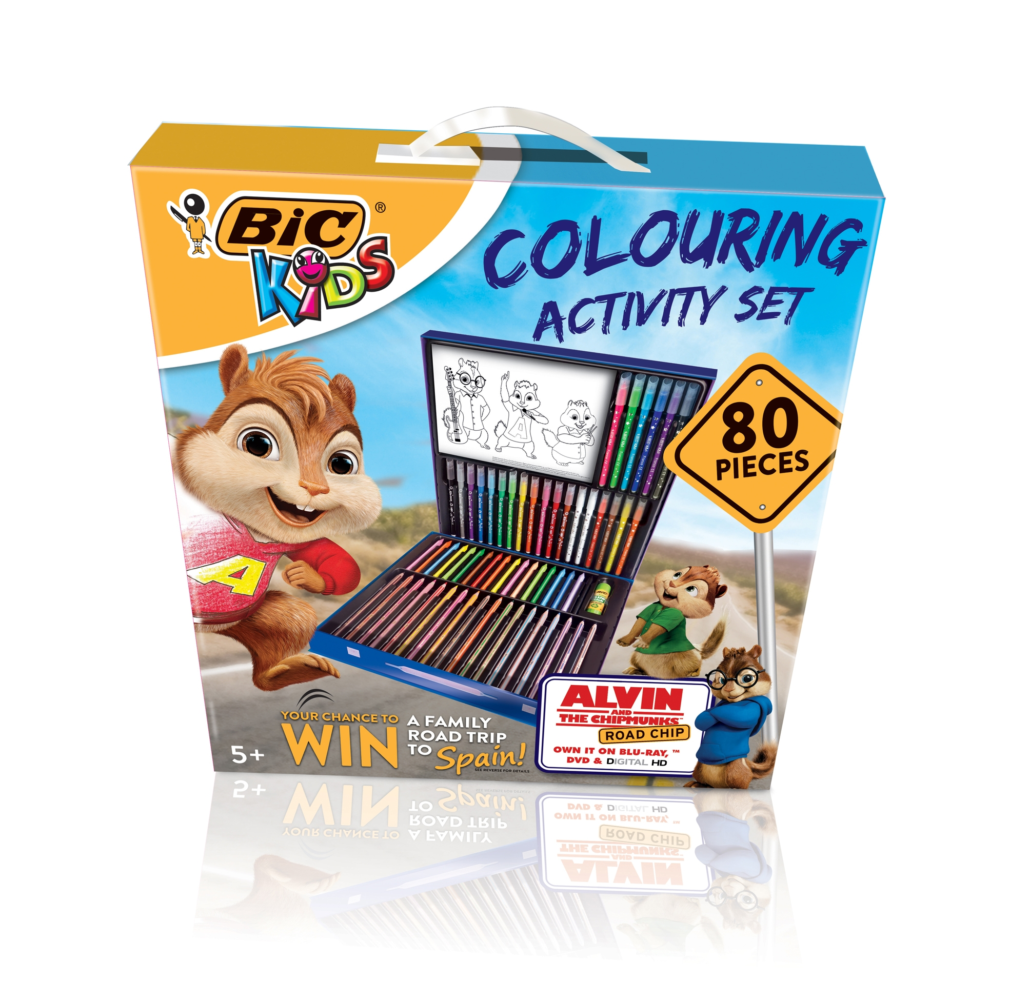 The BIC® Kids Colouring Activity Set and Colouring Wallet