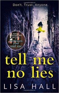 Books for Christmas - Image showing cover of Tell Me No Lies