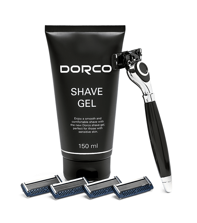 Dorco Classic Shave Gel Kit